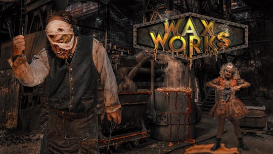 """There's a reason the the wax figures at Knott's Scary Farms' """"Wax Works"""" look particularly lifelike."""