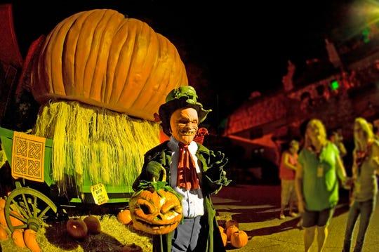 Jack's back for Howl-O-Scream at Busch Gardens Williamsburg in Virginia.