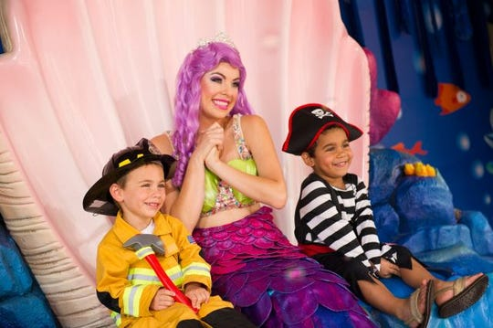 The SeaWorld parks in San Diego, Orlando and San Antonio keep things on the mild side with family-friendly Spooktacular events.
