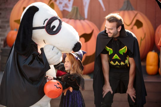 For younger guests, there's Knott's Spooky Farms.